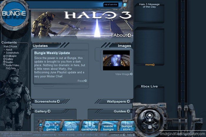 Halo 3 on Bungie.net
